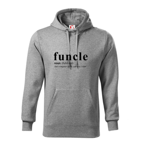 Funcle - cooler uncle - Mikina s kapucí hooded sweater