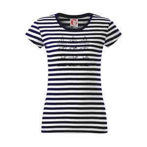 Fyziologie cviky - Sailor dámské triko
