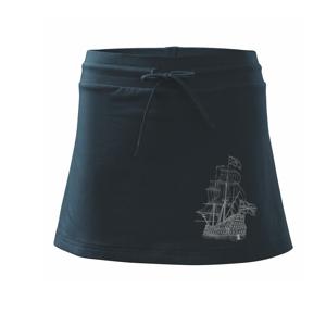 Galeona velká - Sportovní sukně - two in one
