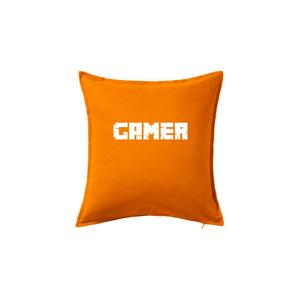 Gamer nápis - Polštář 50x50