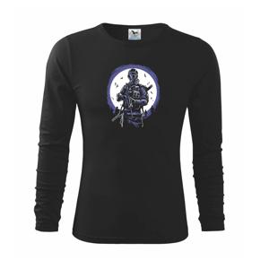 Gas Mask Soldier - Triko dětské Long Sleeve