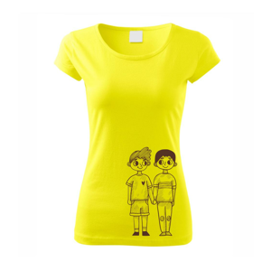 Gay pár - Pure dámské triko