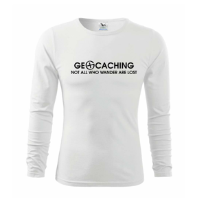 Geocaching lost - Triko s dlouhým rukávem FIT-T long sleeve
