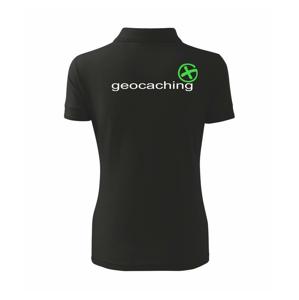 Geocaching nápis - Polokošile dámská Pique Polo