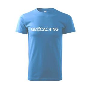 Geocaching svět - Heavy new - triko pánské