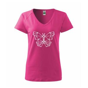 Geometrie - motýl - Tričko dámské Dream