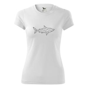 Geometrie - žralok tělo - Dámské Fantasy sportovní (dresovina)