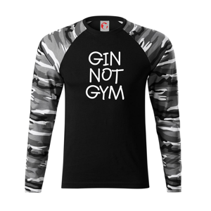 Gin not Gym - Camouflage LS
