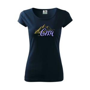 Giza Lettering - Pure dámské triko