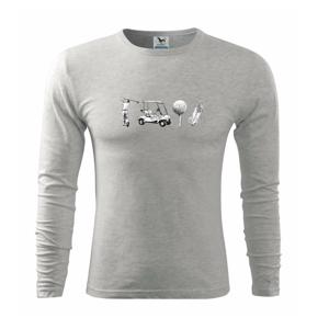 Golfový set - Triko s dlouhým rukávem FIT-T long sleeve
