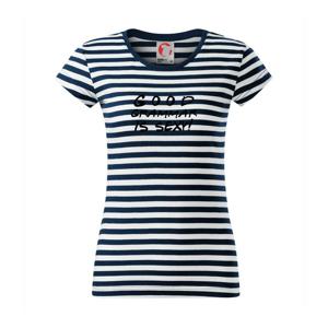 Good grammar is sexy - Sailor dámské triko