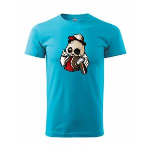 Graffiti panda - Heavy new - triko pánské