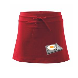 Gramofon vejce - Sportovní sukně - two in one