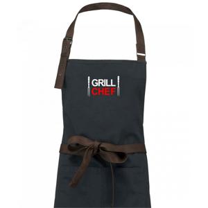 Grilování - Grill Chef - Zástěra Vintage