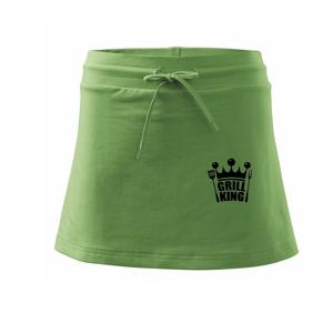 Grilování -  Grill King - Sportovní sukně - two in one