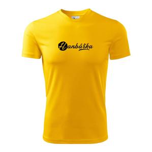 Hanbářka okrasné - Dětské triko Fantasy sportovní (dresovina)