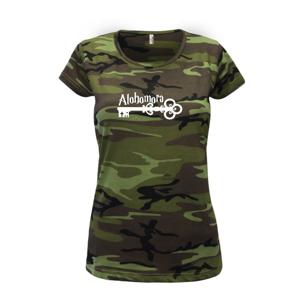 Harry - Alohomora - Dámské maskáčové triko