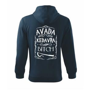 Harry - Avada Kedavra - Mikina s kapucí na zip trendy zipper