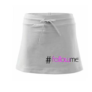 Hashtag follow me - Sportovní sukně - two in one