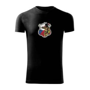Hasič erb - Česká vlajka - Viper FIT pánské triko