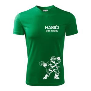 Hasič postava - vlastní název  - Dětské triko Fantasy sportovní (dresovina)