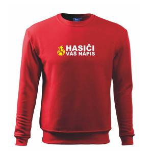 Hasiči (oheň,  Firesport, název sboru - vlastní nápis) - Mikina Essential dětská