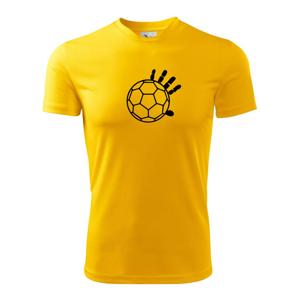 Házená míč ruka - Dětské triko Fantasy sportovní (dresovina)