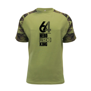 Hero, Legend, King x Queen 1964 - Raglan Military