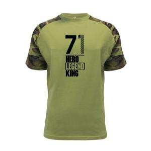Hero, Legend, King x Queen 1971 - Raglan Military