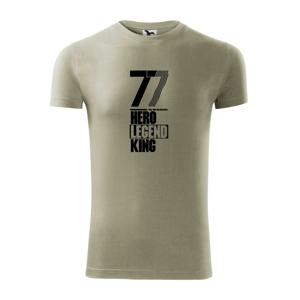 Hero, Legend, King x Queen 1977 - Replay FIT pánské triko