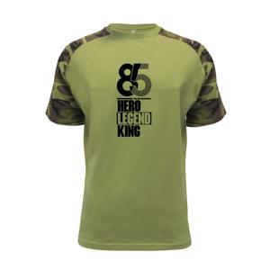 Hero, Legend, King x Queen 1985 - Raglan Military