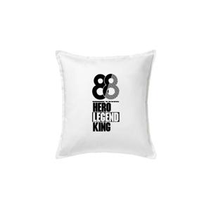 Hero, Legend, King x Queen 1988 - Polštář 50x50