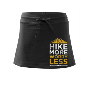 Hike more worry less - Sportovní sukně - two in one