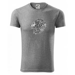 Hlava lva - mandala - Viper FIT pánské triko