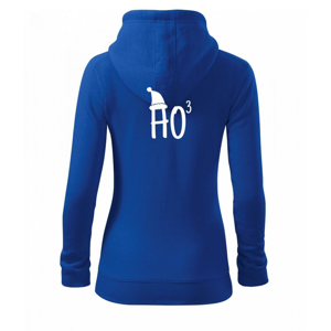 Ho3 - Dámská mikina trendy zippeer s kapucí