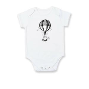 Horkovzdušný balón  kreslený - Body kojenecké