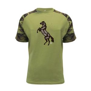 Horse mustang - Raglan Military