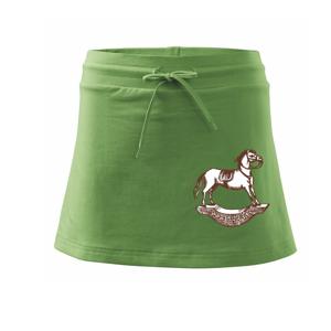 Houpací kůň - Sportovní sukně - two in one