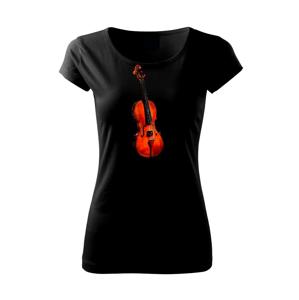 Housle na výšku - Pure dámské triko
