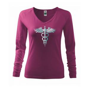 Hrdinové zdravotnictví - logo (Pecka design) - Triko dámské Elegance
