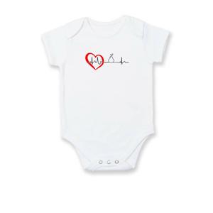 Hruška EKG - Body kojenecké