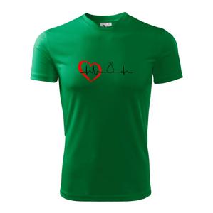 Hruška EKG - Dětské triko Fantasy sportovní (dresovina)