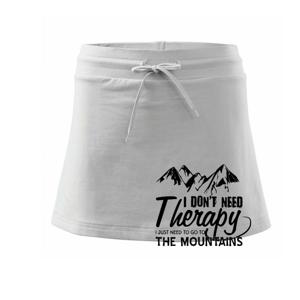 I dont need therapy - Mountains - Nepotřebuji terapii - Hory - Sportovní sukně - two in one