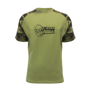 I don't need therapy wheel in my hands (vedle sebe) - Raglan Military