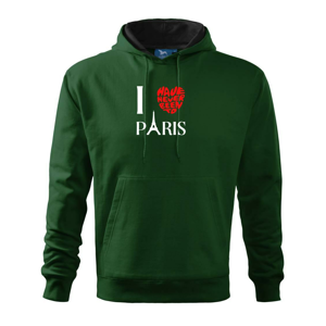 I have never been to Paris - Mikina s kapucí hooded sweater