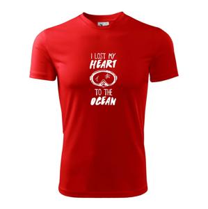 I lost my heart to the ocean - Dětské triko Fantasy sportovní