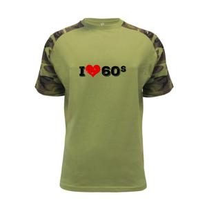 I love 60s - Raglan Military
