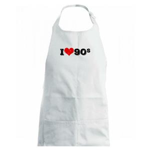I love 90s - Dětská zástěra na vaření