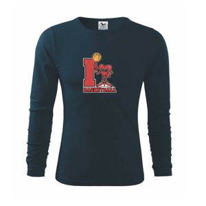 I love basketball - Triko s dlouhým rukávem FIT-T long sleeve