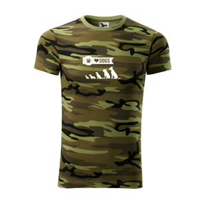 I love dogs - tlapka - Army CAMOUFLAGE
